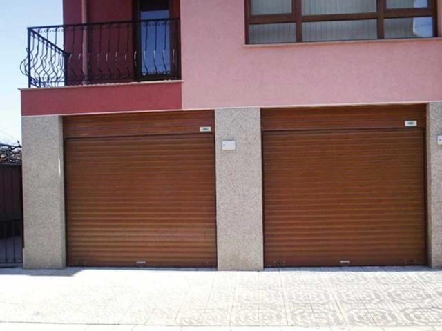 Алуминиева ламелна гаражна врата