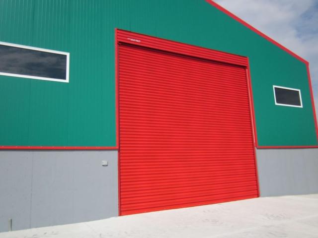 Индустриална врата 18