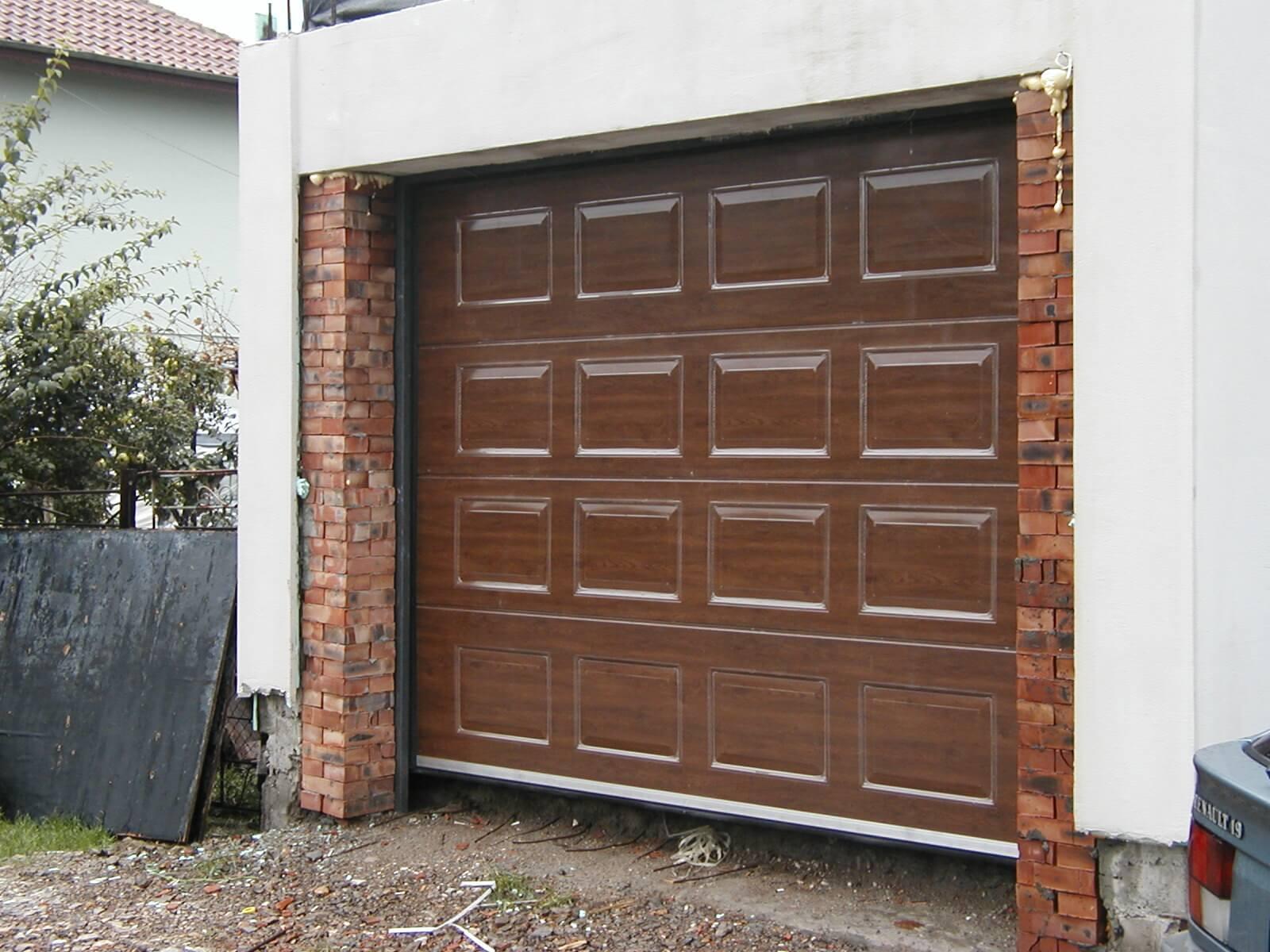 Секционна врата 4