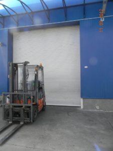 Ролетна врата с термоламел 77