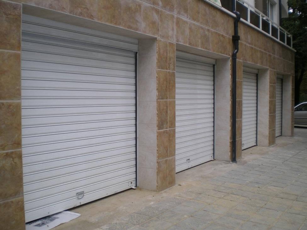 Стандартна ламелна гаражна врата